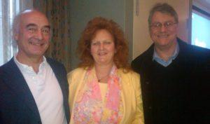 Ellen with Jan Scholten and Louis Klein