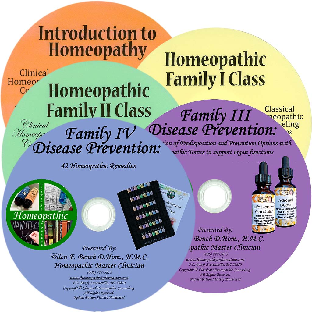 Five Homeopathy Classes