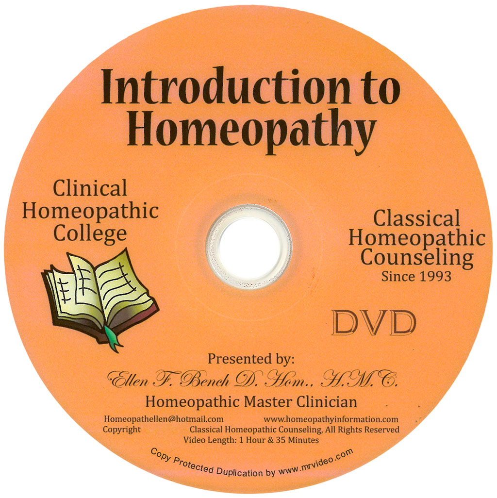 Introduction to Homeopathy Class
